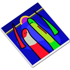 Colorful snakes Small Memo Pads