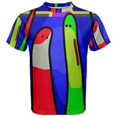 Colorful snakes Men s Cotton Tee