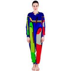 Colorful snakes OnePiece Jumpsuit (Ladies)