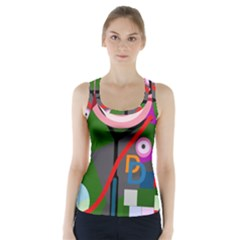 Party Racer Back Sports Top