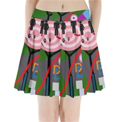 Party Pleated Mini Skirt