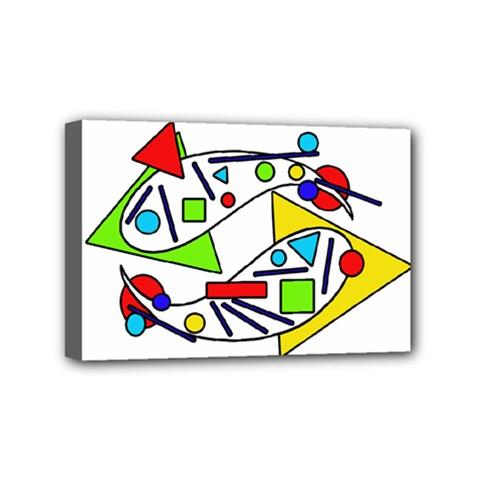 Catch me Mini Canvas 6  x 4