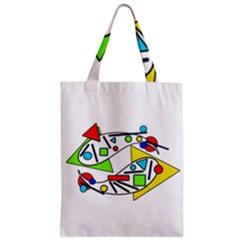 Catch me Zipper Classic Tote Bag