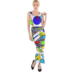 Find It Fitted Maxi Dress