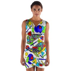 Find it Wrap Front Bodycon Dress