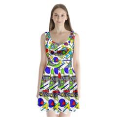 Find it Split Back Mini Dress