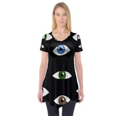 Look at me Short Sleeve Tunic