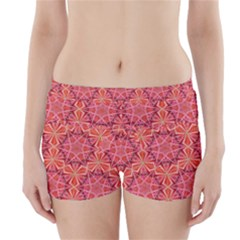 12 Pointed Star And The Number Of Completion Boyleg Bikini Wrap Bottoms