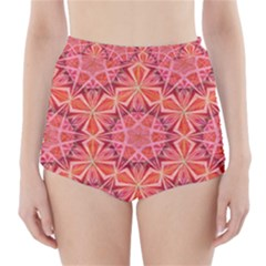 12 pointed star and the number of completion High-Waisted Bikini Bottoms
