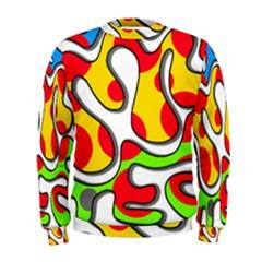 Colorful graffiti Men s Sweatshirt