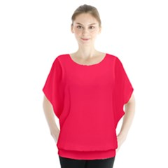 Torch Red Colour Blouse