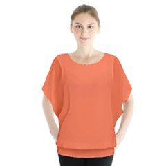 Tomato Colour Blouse
