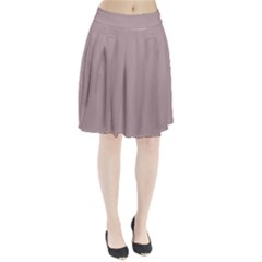 Thatch Colour Pleated Skirt