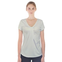 Tana Colour Short Sleeve Front Detail Top