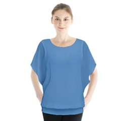 Steel Blue Colour Blouse