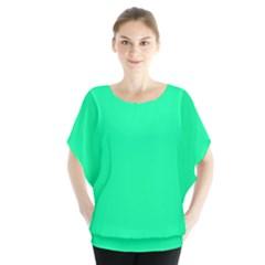 Spring Green Colour Blouse