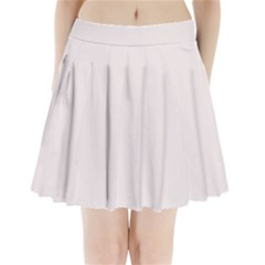 Soft Peach Colour Pleated Mini Skirt