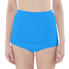 Sky Blue Colour High-Waisted Bikini Bottoms
