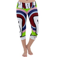 Disco Capri Yoga Leggings