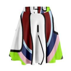 Disco High Waist Skirt