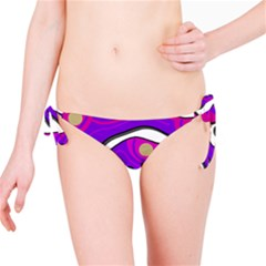 Purple graffiti Bikini Bottom