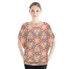 Sacred Geometry Pattern Blouse