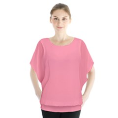 Pink Salmon Colour Blouse