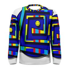 Maze Men s Long Sleeve Tee
