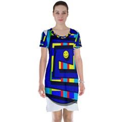 Maze Short Sleeve Nightdress