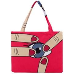 Poke in the eye Mini Tote Bag