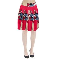 Poke in the eye Pleated Skirt