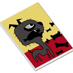 Angry little dog Large Memo Pads