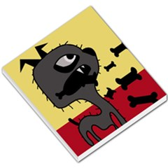 Angry little dog Small Memo Pads