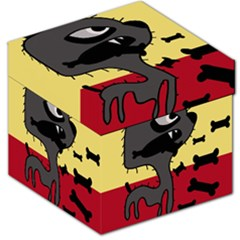 Angry little dog Storage Stool 12