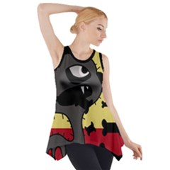 Angry Little Dog Side Drop Tank Tunic