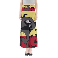 Angry little dog Maxi Skirts