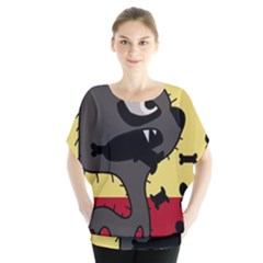 Angry little dog Blouse