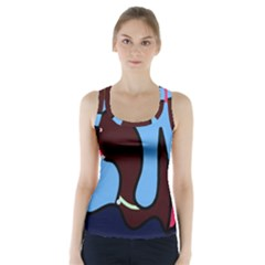 Sea Monster Racer Back Sports Top
