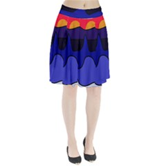 Waves Pleated Skirt