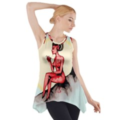 Heart Eater Side Drop Tank Tunic