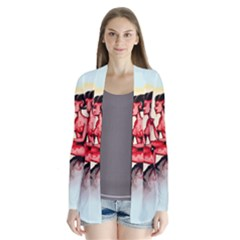 Heart Eater Drape Collar Cardigan
