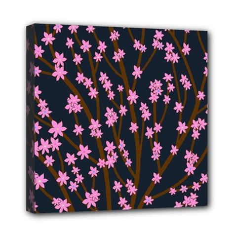 Japanese tree  Mini Canvas 8  x 8