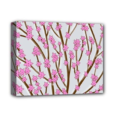 Cherry tree Deluxe Canvas 14  x 11