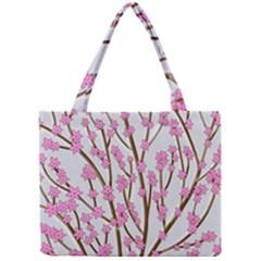 Cherry tree Mini Tote Bag