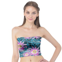 Whimsical Garden Tube Top