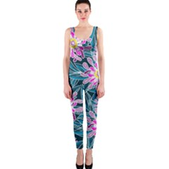 Whimsical Garden Onepiece Catsuit