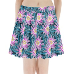 Whimsical Garden Pleated Mini Skirt