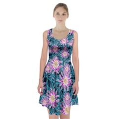 Whimsical Garden Racerback Midi Dress