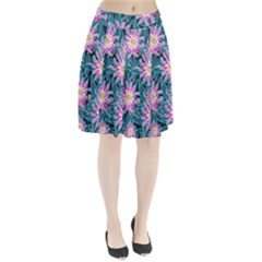 Whimsical Garden Pleated Skirt