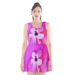 Floralpi Scoop Neck Skater Dress